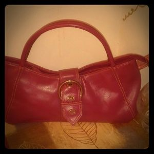 Raspberry Hand Purse from Nordstrom